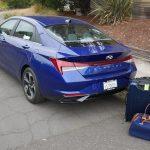 การทดสอบกระเป๋าเดินทาง Hyundai Elantra 2022 | ใหญ่แค่ไหน?